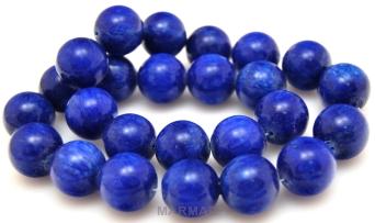 Aragonit - kula 16mm - niebieski